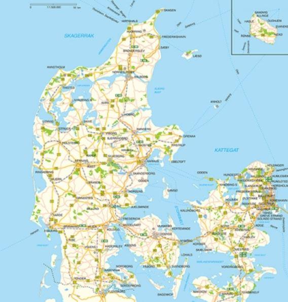 Kort over ledninger i jorden